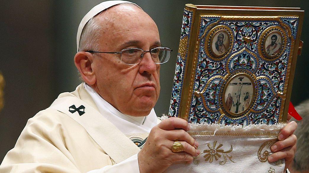 البابا يستخدم كلمة إبادة بشأن الأرمن خلال قداس