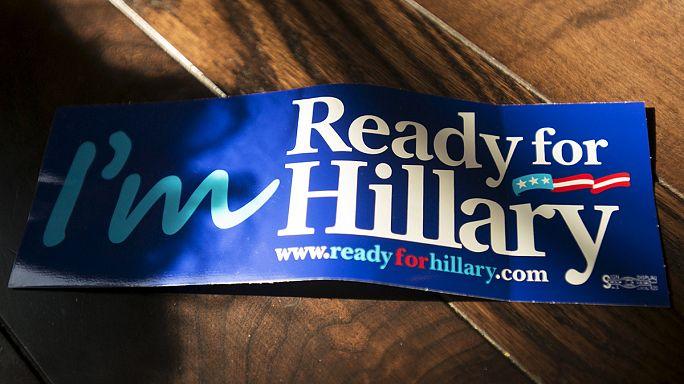 Hillary Clinton en route vers la présidence
