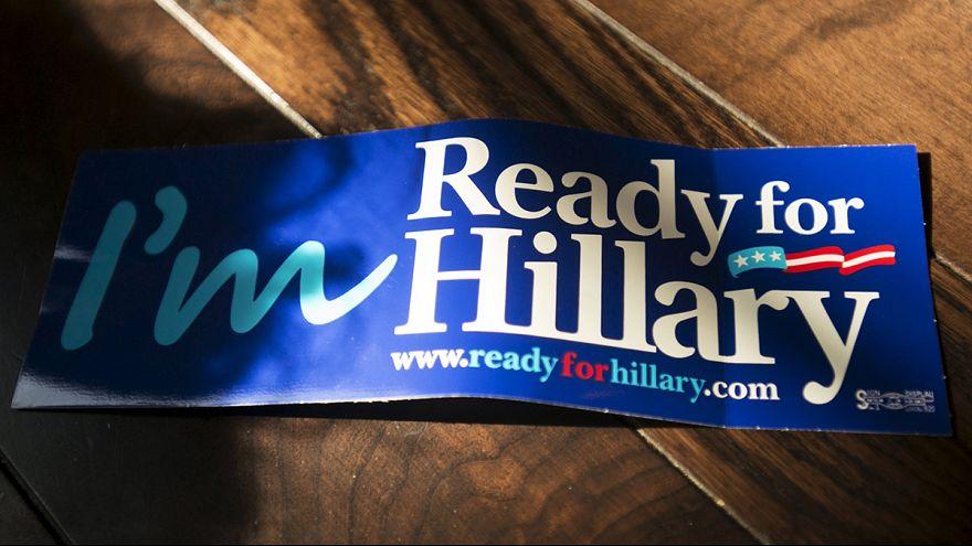 Estados Unidos espera el paso al frente de Hillary Clinton