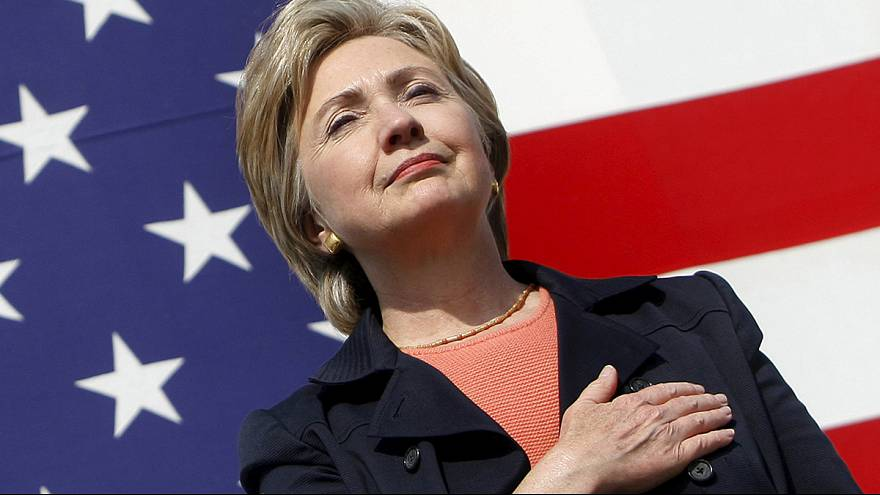 Hillary Clinton en route pour devenir la première présidente des Etats-Unis