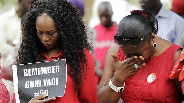 Prayers for the abducted Chibok school girls - still missing after one year