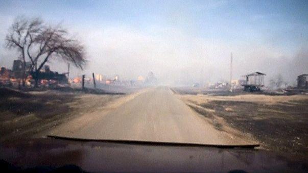 Bozóttüzek pusztítanak Dél-Szibériában