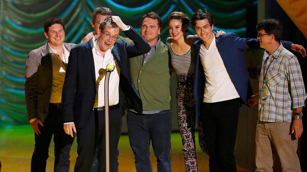 """Los MTV Movie Awards coronan a Shailene Woodley y a la película """"Bajo la misma estrella"""""""