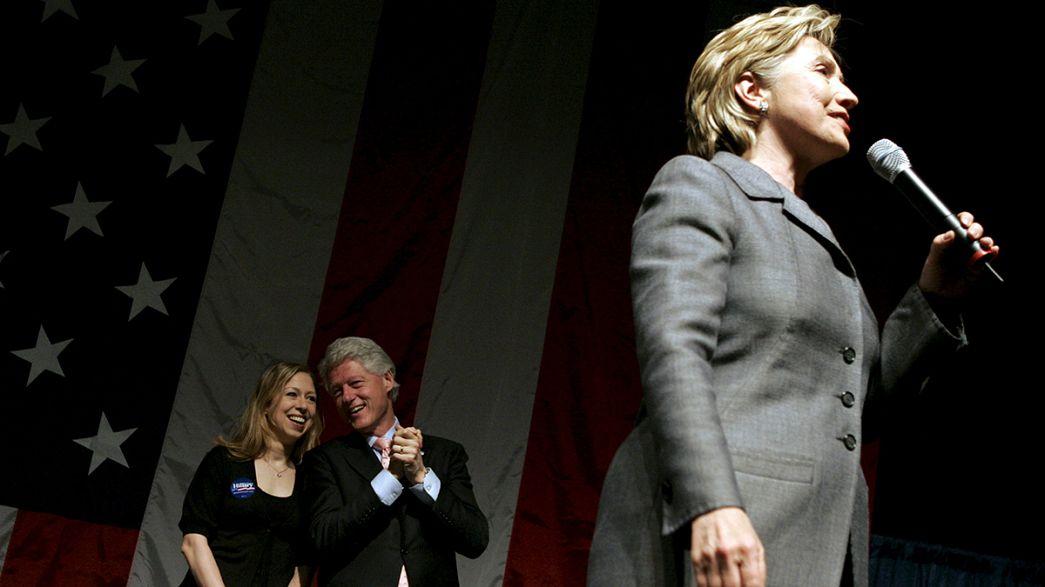 Örülnek a Clinton-hívek: a volt first lady indul az elnökjelöltségért