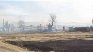 Russia: fires destroy dozens of homes