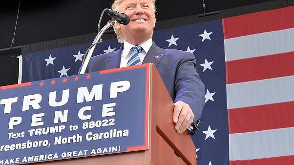 Image: Donald Trump Campaigns In Greensboro, North Carolina