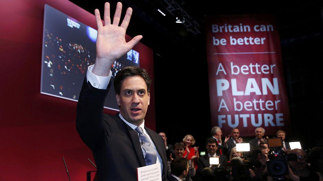 Miliband presenta un programa basado en la reducción del déficit