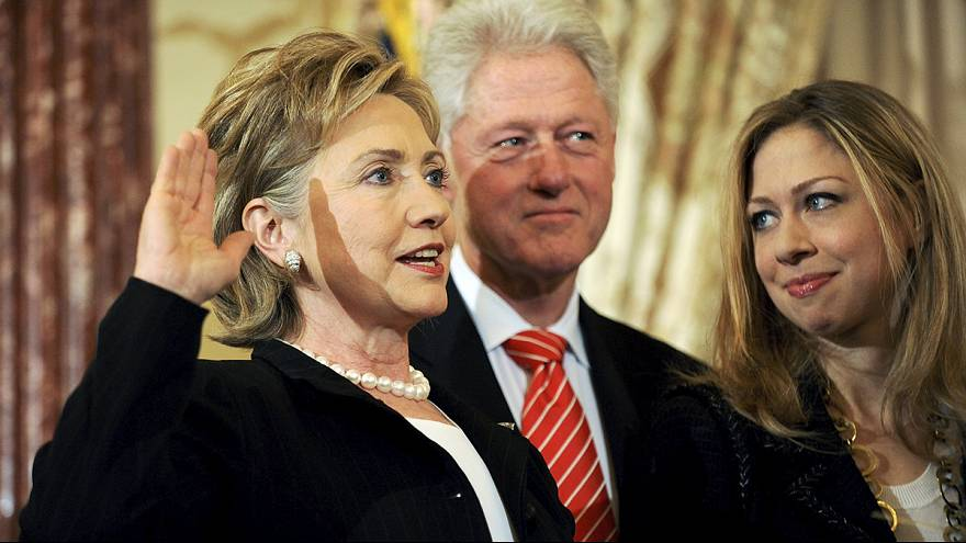Hillary Clinton dans la course
