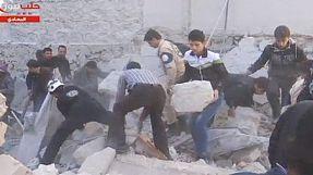 Síria: explosões sobre a cidade de Aleppo