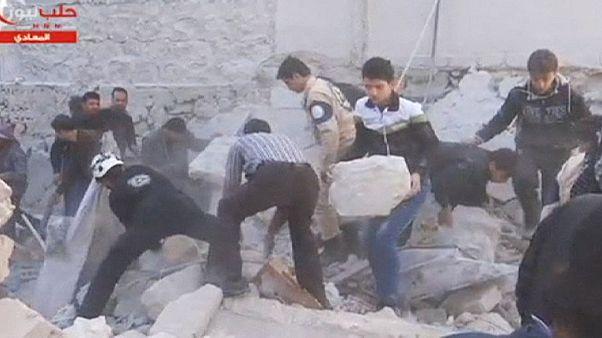 Συρία: Φονικές επιθέσεις στο Χαλέπι