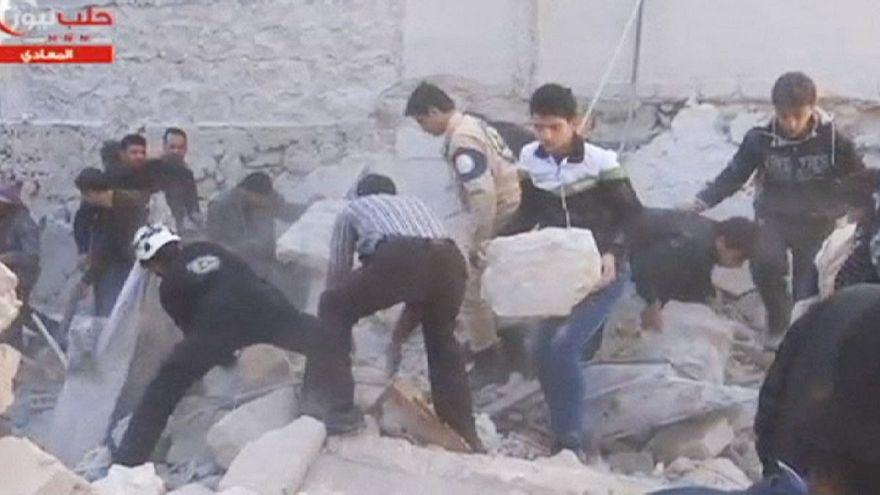 Сирия: взрывы в Алеппо