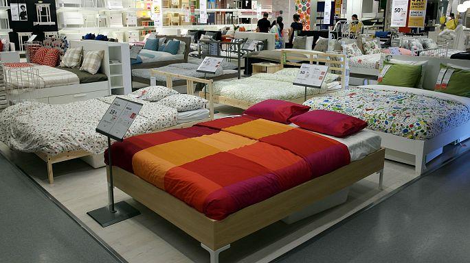 İkea Çinli müşterilere mağazada uyuma yasağı getirdi