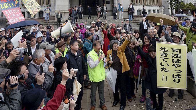 Japonya'da nükleer enerji karşıtlarının yargı zaferi