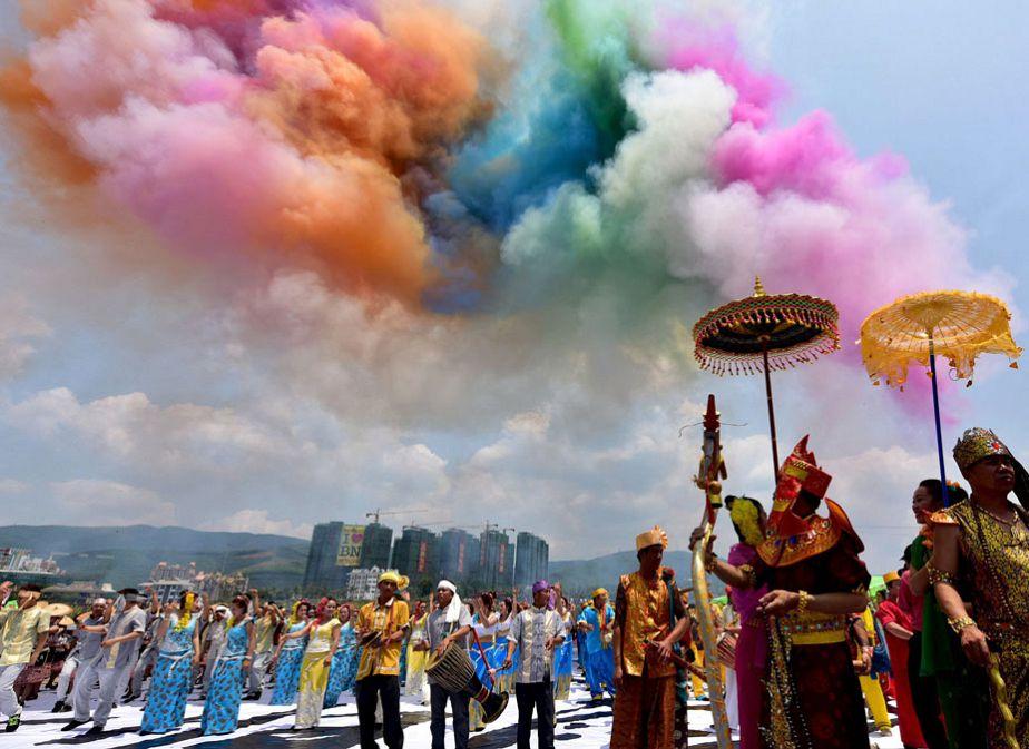Chine : un Nouvel an haut en couleurs