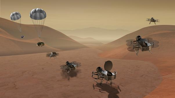 NASA may send 'Dragonfly' to an alien world