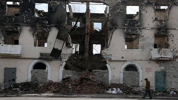 A further strain on a shaky truce: Fighting escalates in eastern Ukraine