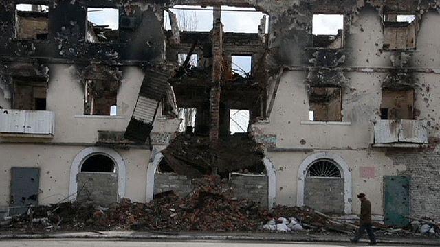 Harcok Donyecknél: 6 ukrán katona esett el