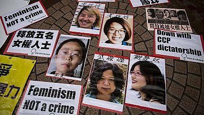 Ativistas chinesas em liberdade para já