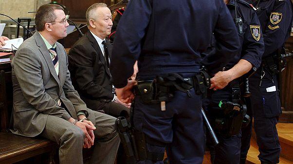 Gyilkossággal vádolt magas rangú kazahok a bécsi bíróság előtt