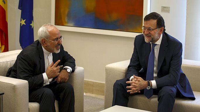 El ministro de Exteriores iraní ha visitado España en plena luna de miel de Teherán con Occidente