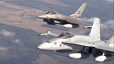 Britische Eurofighter drängen russische Kampfflugzeuge ab