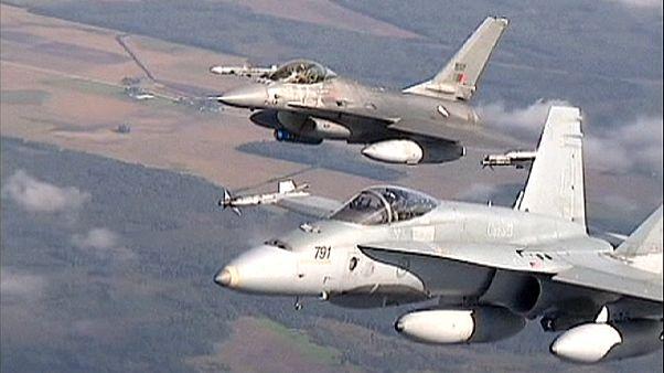 El Reino Unido intercepta dos bombarderos rusos cerca de su espacio aéreo