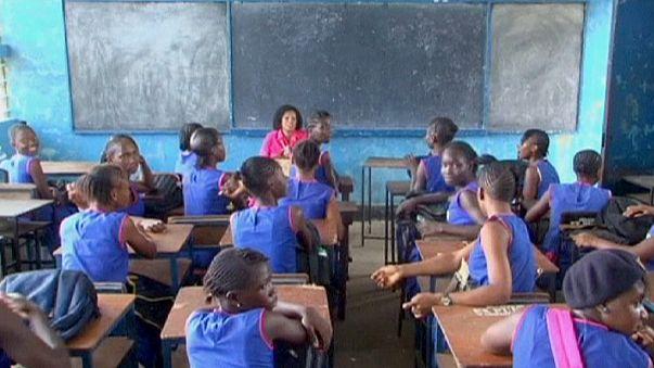 Sierra Leone'de okullar yeniden açıldı