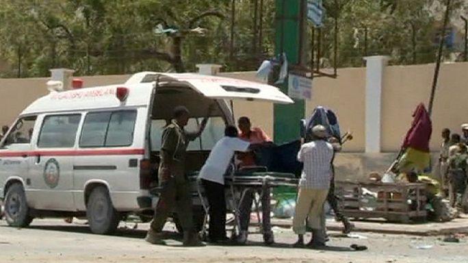 "Нападение боевиков ""Аш-Шабаб"" на министерский комплекс в Сомали"