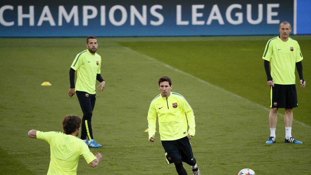 Champions League: il PSG alla prova Barcellona, il Porto tenta lo sgambetto al Bayern