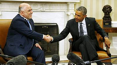 Obama endorses Iraqi premier and his fight against ISIL during White House visit