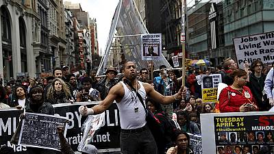 New Yorkers march in anger at deaths by police