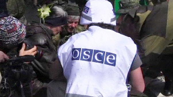 Украина. Российский журналист ранен в результате взрыва мины