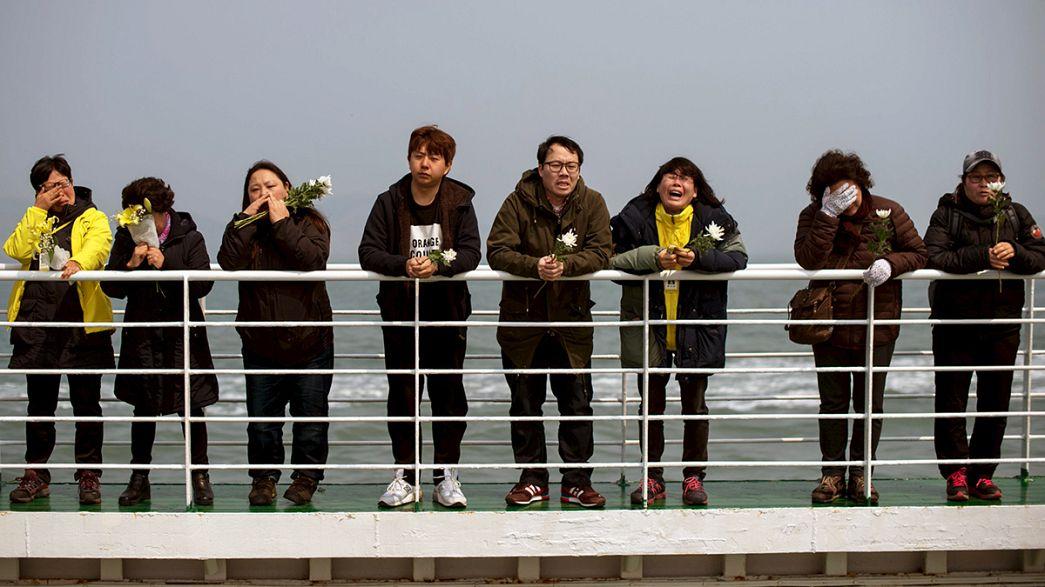 """Hinterbliebene der """"Sewol""""-Tragödie gedenken der Opfer"""