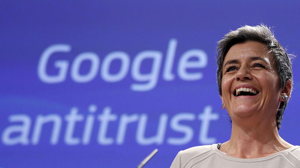 L'Europa contro Google, accusato di abuso di posizione dominante