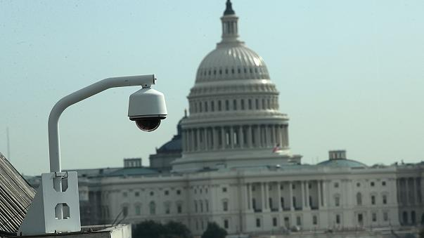Image: Surveillance Camera Near U.S. Capitol