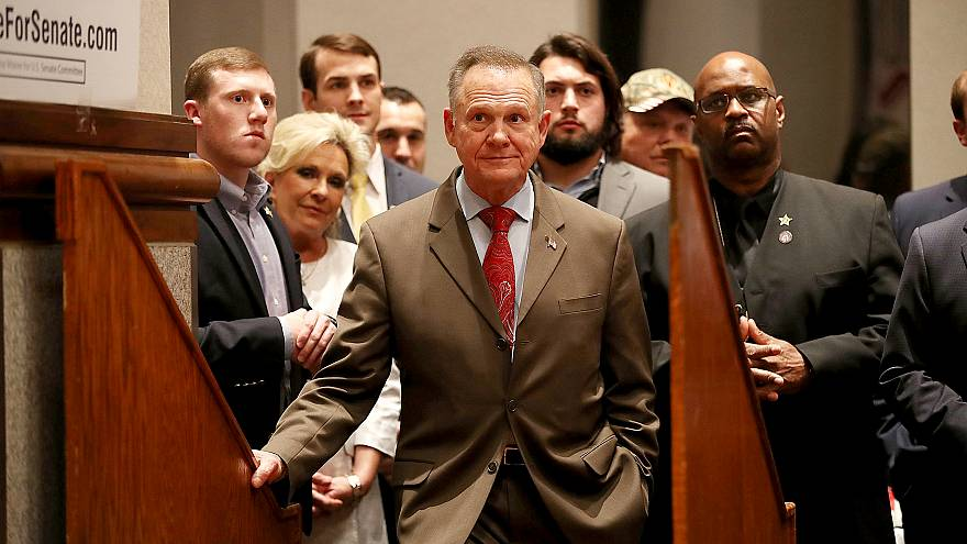 Image: BESTPIX - Alabama GOP Senate Candidate Roy Moore Holds Election Nigh
