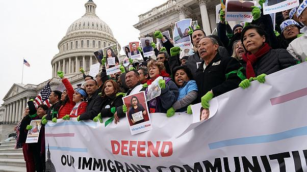Image: Immigration Activists Protest On Capitol Hill Calling On Congress To