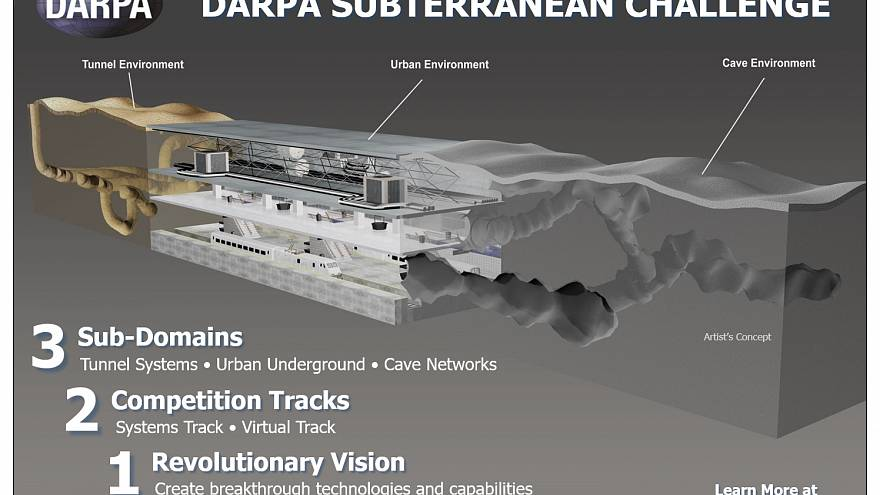 Image: The DARPA Subterranean Challenge explores innovative approaches and