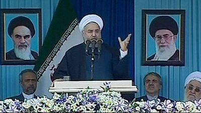 Rohani fordert Ende der Sanktionen