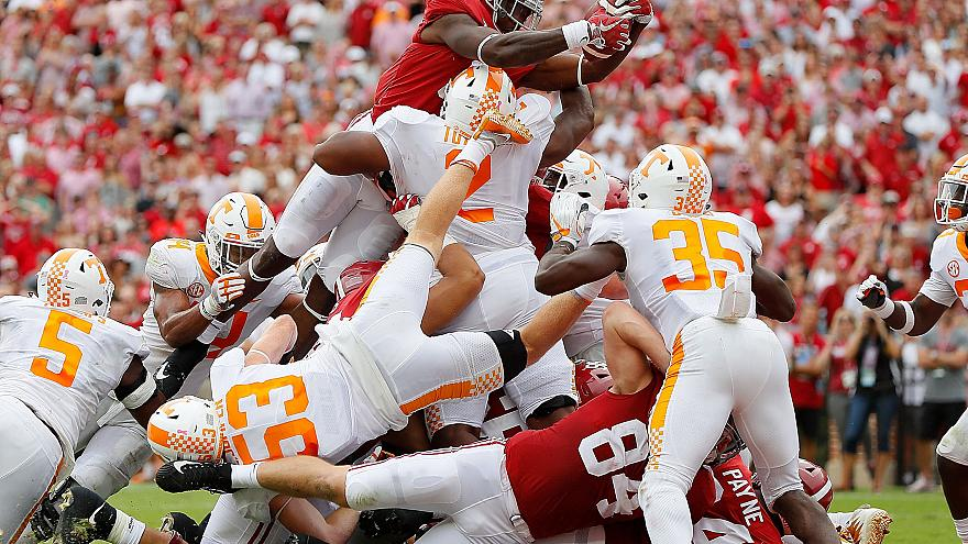 Image: Tennessee v Alabama