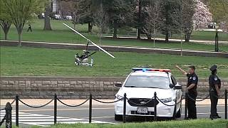 Helicopter makes unauthorised landing in US Capitol grounds