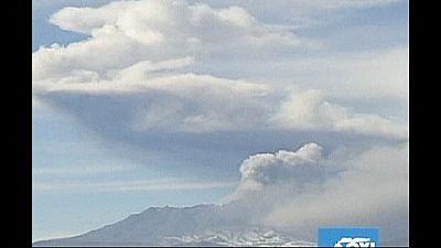Peru's Ubinas volcano shows sighs of activity