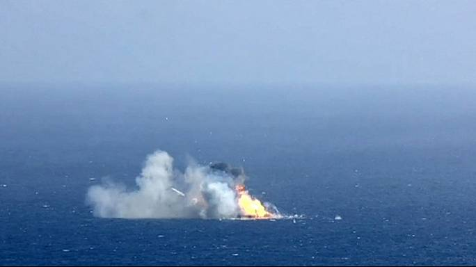 Le lanceur développé par SpaceX rate son atterrissage