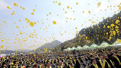 Sewol ferry disaster: one year on