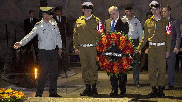 Israel rinde homenaje a los seis millones de judíos que murieron en el Holocausto