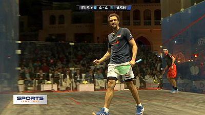 World champion Ashour celebrates dream return to squash