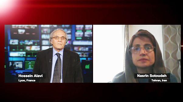 گفتگو با نسرین ستوده درباره وضع حقوق بشر در ایران