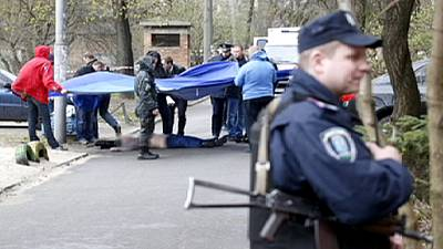 Journalist with pro-Russian views shot dead in Kyiv