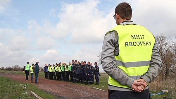 الطائرة الماليزية أم أتش17: فريق خبراء هولاندي يشرع في البحث عن بقايا ركاب الطائرة المفقودين