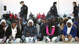 Christian migrants 'thrown overboard in religious clash'